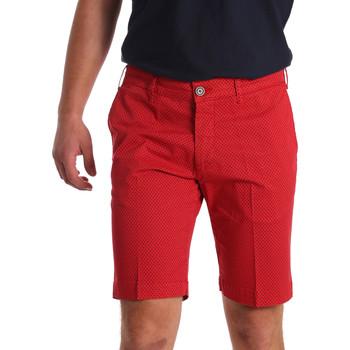 Kleidung Herren Shorts / Bermudas Sei3sei PZV132 71336 Rot