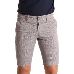 Kleidung Herren Shorts / Bermudas Sei3sei PZV132 71336 Braun