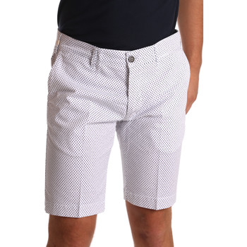 Kleidung Herren Shorts / Bermudas Sei3sei PZV132 71336 Weiß