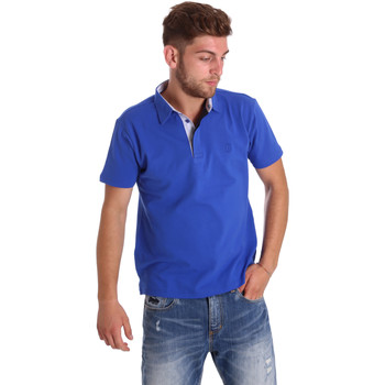 Kleidung Herren Polohemden Bradano 000116 Blau