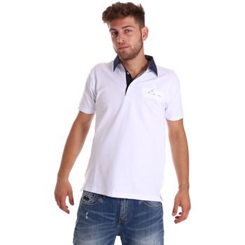 Kleidung Herren Polohemden Bradano 000115 Weiß