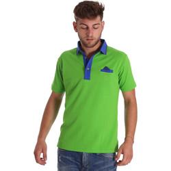 Kleidung Herren Polohemden Bradano 000114 Grün