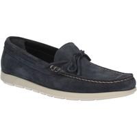 Schuhe Herren Slipper Maritan G 460363 Blau