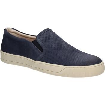Schuhe Herren Slip on Marco Ferretti 260033 Blau