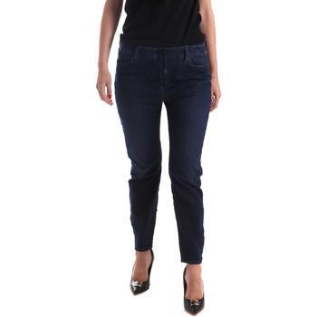 Kleidung Damen Slim Fit Jeans Gas 365759 Blau