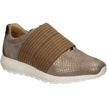 Schuhe Damen Slip on IgI&CO 7764 Braun
