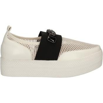 Schuhe Damen Slip on Solo Soprani C460 Weiß