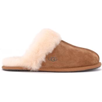 Schuhe Damen Hausschuhe UGG Ugg Pantoffel Scuffette II in kastanienbraunem Braun