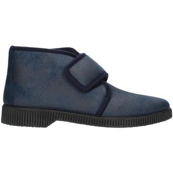 Schuhe Herren Hausschuhe Clia Walk HOME126 Blau
