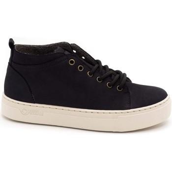 Schuhe Damen Low Boots Natural World  Negro
