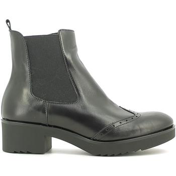 Schuhe Damen Low Boots Susimoda 856884 Schwarz