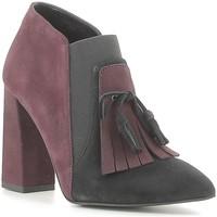 Schuhe Damen Ankle Boots Café Noir NMA543 Schwarz
