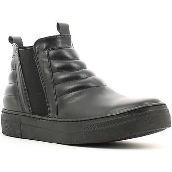Schuhe Damen Sneaker High Café Noir XV101 Schwarz