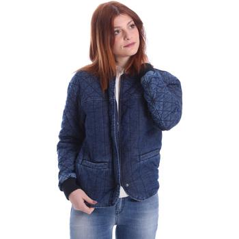 Kleidung Damen Jacken Gas 255425 Blau