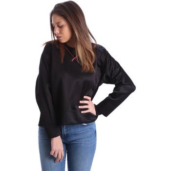 Kleidung Damen Sweatshirts Ea7 Emporio Armani 6XTM68 TN11Z Schwarz