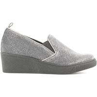 Schuhe Damen Slipper Grunland SC2056 Schwarz