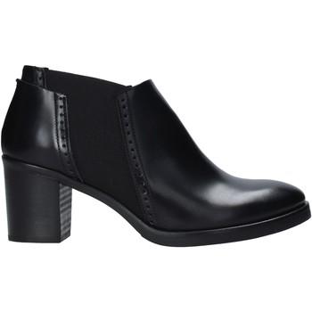 Schuhe Damen Ankle Boots Mally 5400 Schwarz