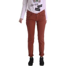 Kleidung Damen 5-Pocket-Hosen Fornarina BIR1G41G28050 Braun