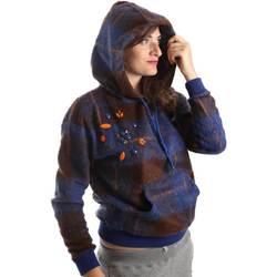 Kleidung Damen Sweatshirts Y Not? Y17AI074 Blau
