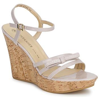 Schuhe Damen Sandalen / Sandaletten Peter Kaiser RUTH Beige