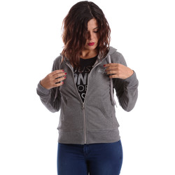 Kleidung Damen Sweatshirts Key Up SIX2 0001 Grau