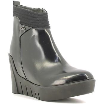 Schuhe Damen Low Boots Alberto Guardiani SD57522B Schwarz