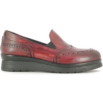 Schuhe Damen Slipper Rogers 1522 Rot