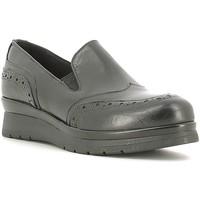 Schuhe Damen Slipper Rogers 1522 Schwarz