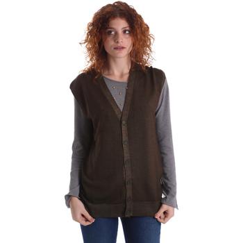 Kleidung Damen Strickjacken Wool&co WO0004 Grün