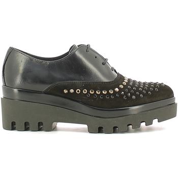 Schuhe Damen Richelieu Soldini 20030-2 Schwarz