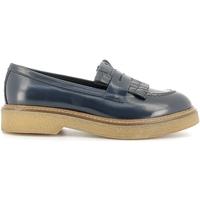 Schuhe Damen Slipper Soldini 20027-2 Blau