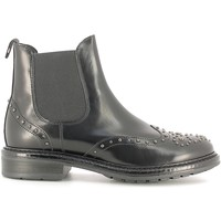 Schuhe Damen Low Boots Soldini 19960-B Schwarz