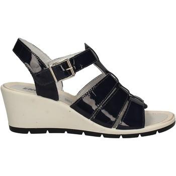 Schuhe Damen Sandalen / Sandaletten Enval 7986 Blau