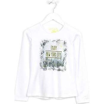 Kleidung Kinder Pullover Losan 624 1204AB Weiß