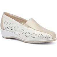 Schuhe Damen Slipper Susimoda 4412 Gold