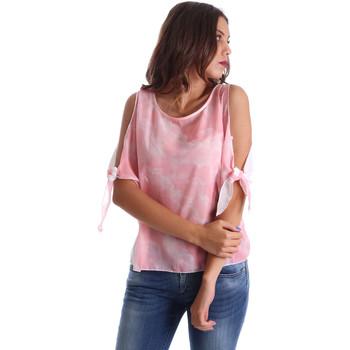 Kleidung Damen Tops / Blusen Fornarina BE17T532CA11C5 Rosa