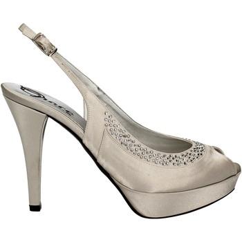 Schuhe Damen Sandalen / Sandaletten Grace Shoes 2046 Silber
