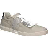 Schuhe Damen Slip on Keys 5058 Weiß