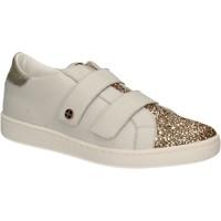 Schuhe Damen Sneaker Low Keys 5059 Weiß