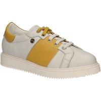 Schuhe Damen Sneaker Low Keys 5063 Weiß