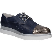 Schuhe Damen Derby-Schuhe Keys 5107 Blau