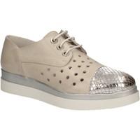 Schuhe Damen Derby-Schuhe Keys 5107 Grau