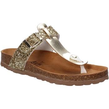 Schuhe Damen Zehensandalen Everlast EV-106 Gold