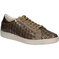 Schuhe Damen Sneaker Low Keys 5052 Gold