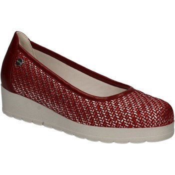 Schuhe Damen Ballerinas Keys 5125 Rot