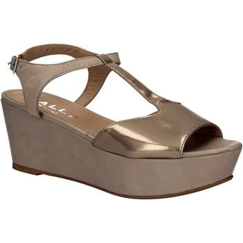 Schuhe Damen Sandalen / Sandaletten Mally 5667 Grau