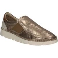 Schuhe Damen Slip on Mally 5708 Gold
