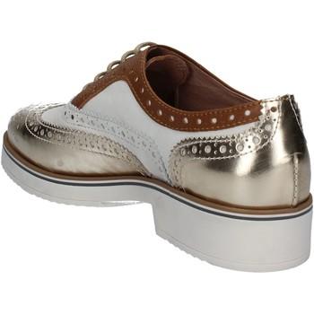 Mally 5813 Gold - Schuhe Richelieu Damen 3815