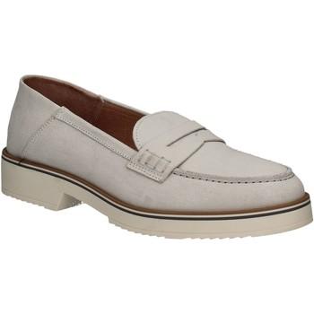 Schuhe Damen Slipper Mally 5876 Silber