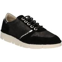 Schuhe Damen Sneaker Low Mally 5938 Schwarz